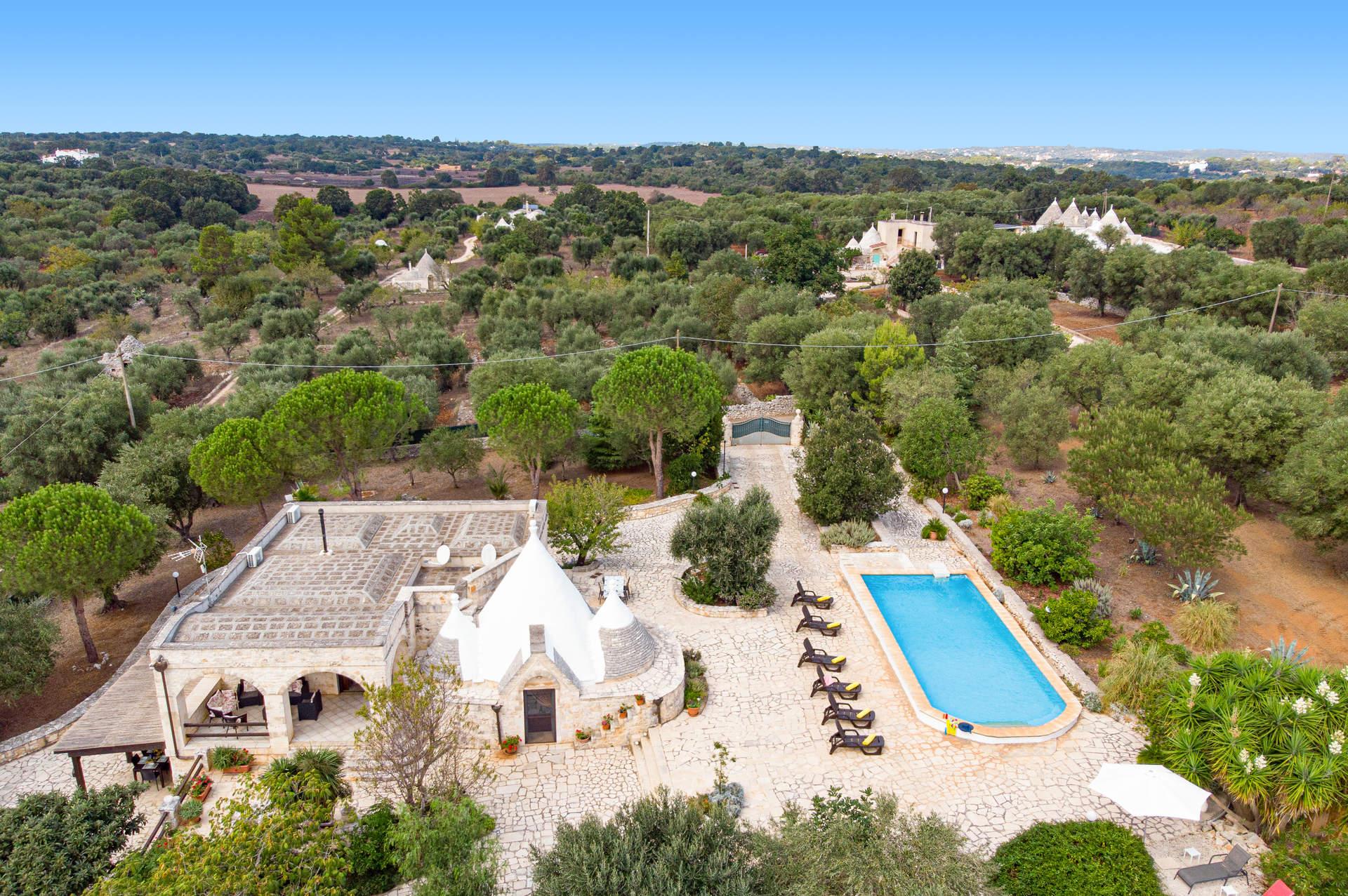 Villa Mimosa, Ostuni, Puglia, Italy