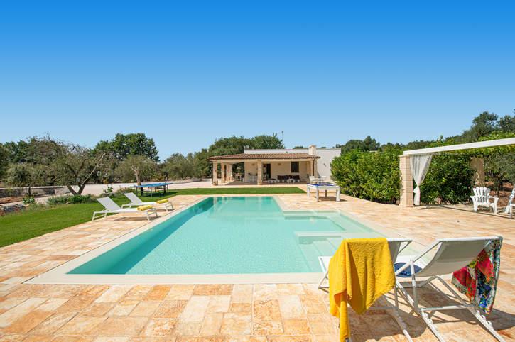 Villa Mincodda, Carovigno, Puglia, Italy