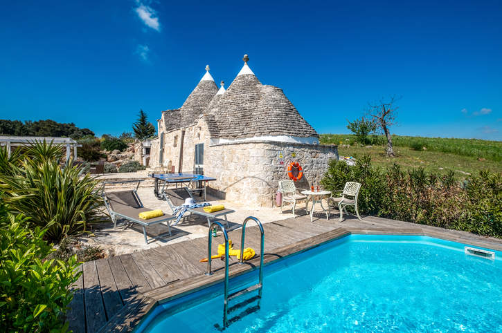 Villa Trulli Isabella, Martina Franca, Puglia, Italy