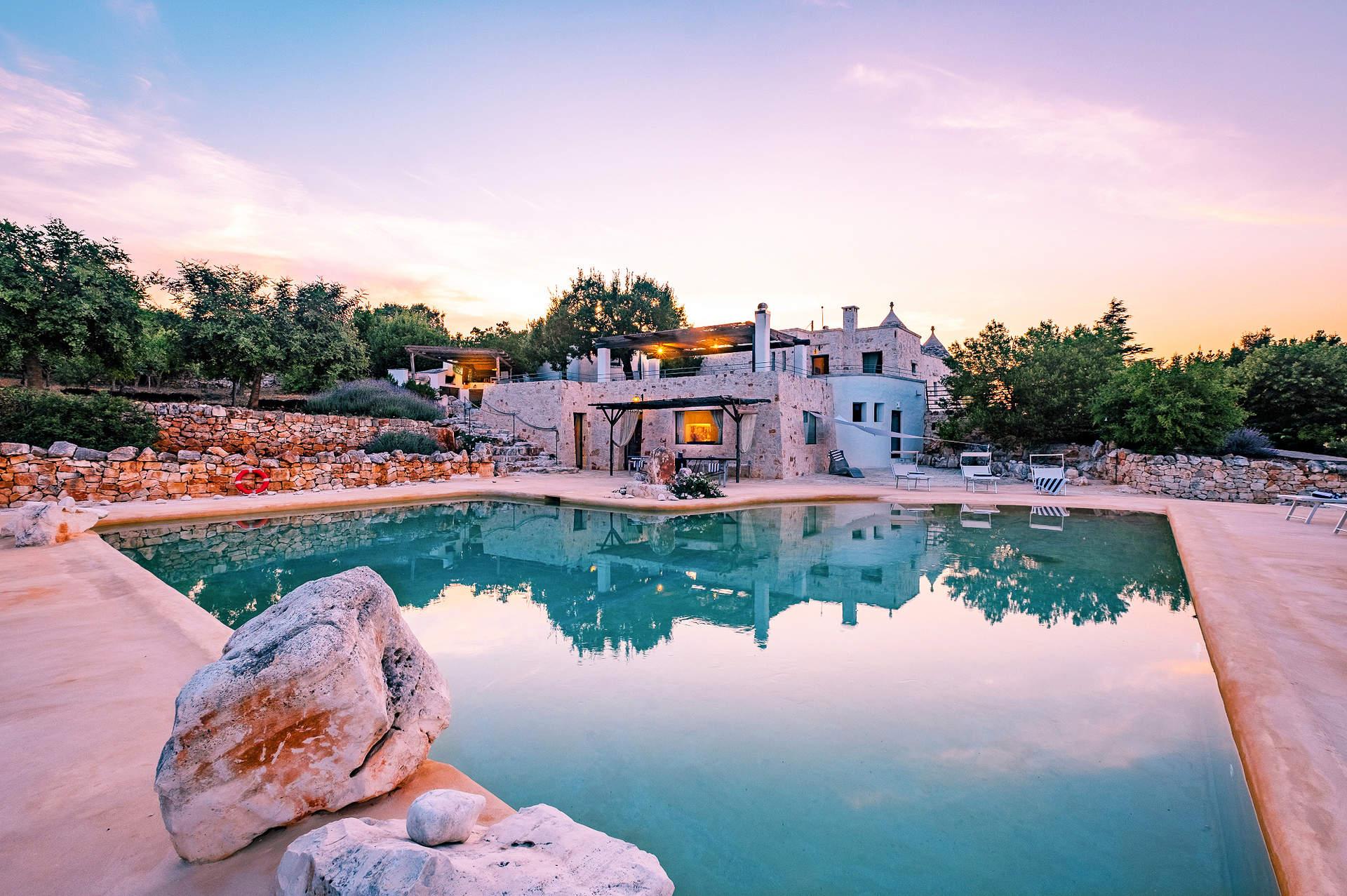 Villa Trulli Laguna, Cisternino, Puglia, Italy