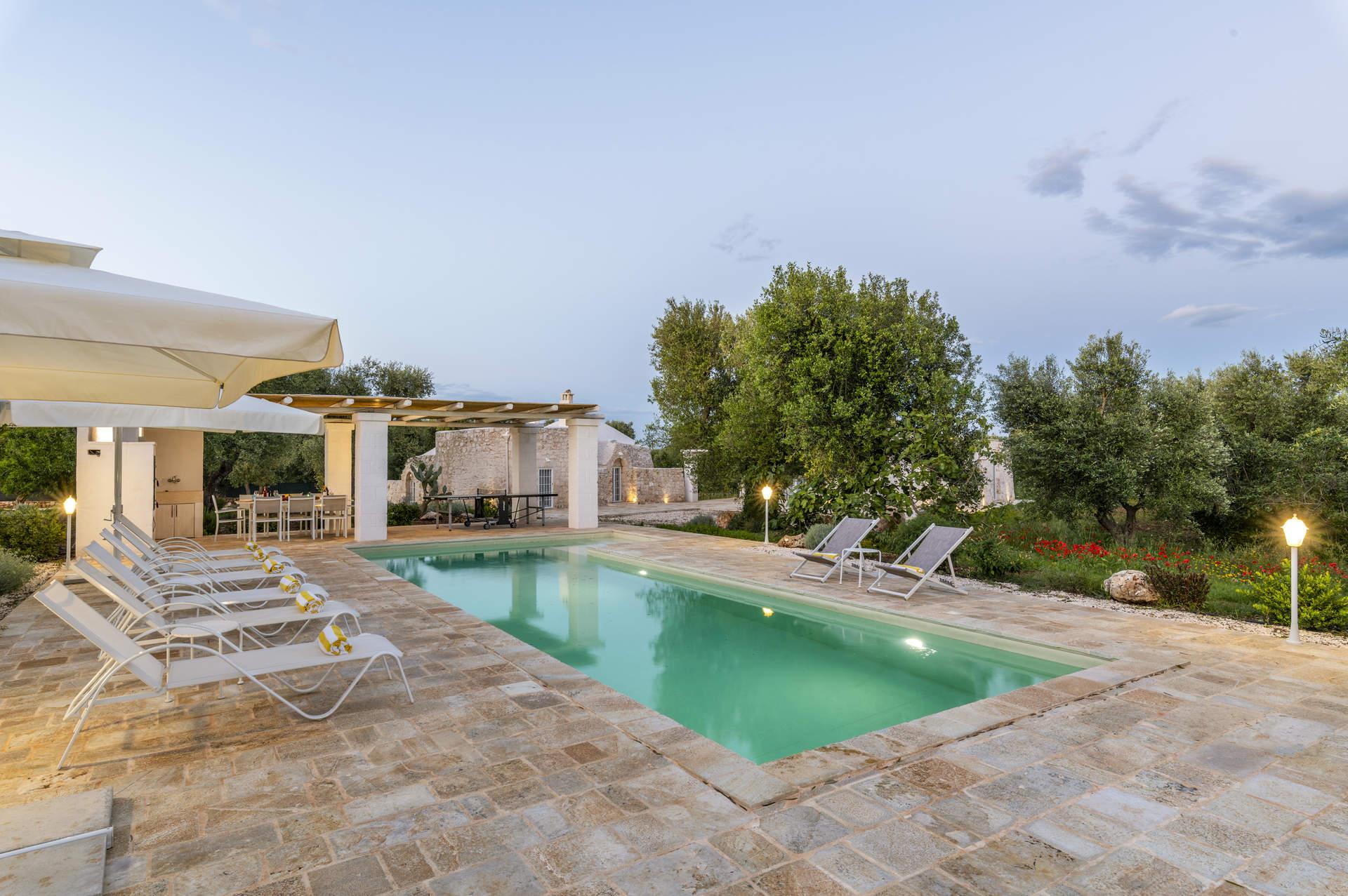 Villa Trullo Acquaro, Ostuni, Puglia, Italy