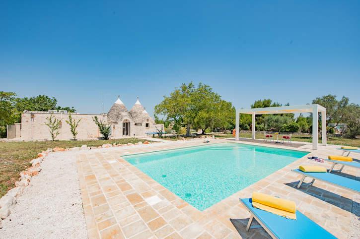 Villa Trullo Bozalice, Martina Franca, Puglia, Italy