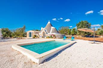 Villa Trullo Didi, Ceglie Messapica, Puglia, Italy