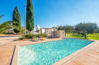Villa Trullo Grazia, Ostuni, Puglia, Italy