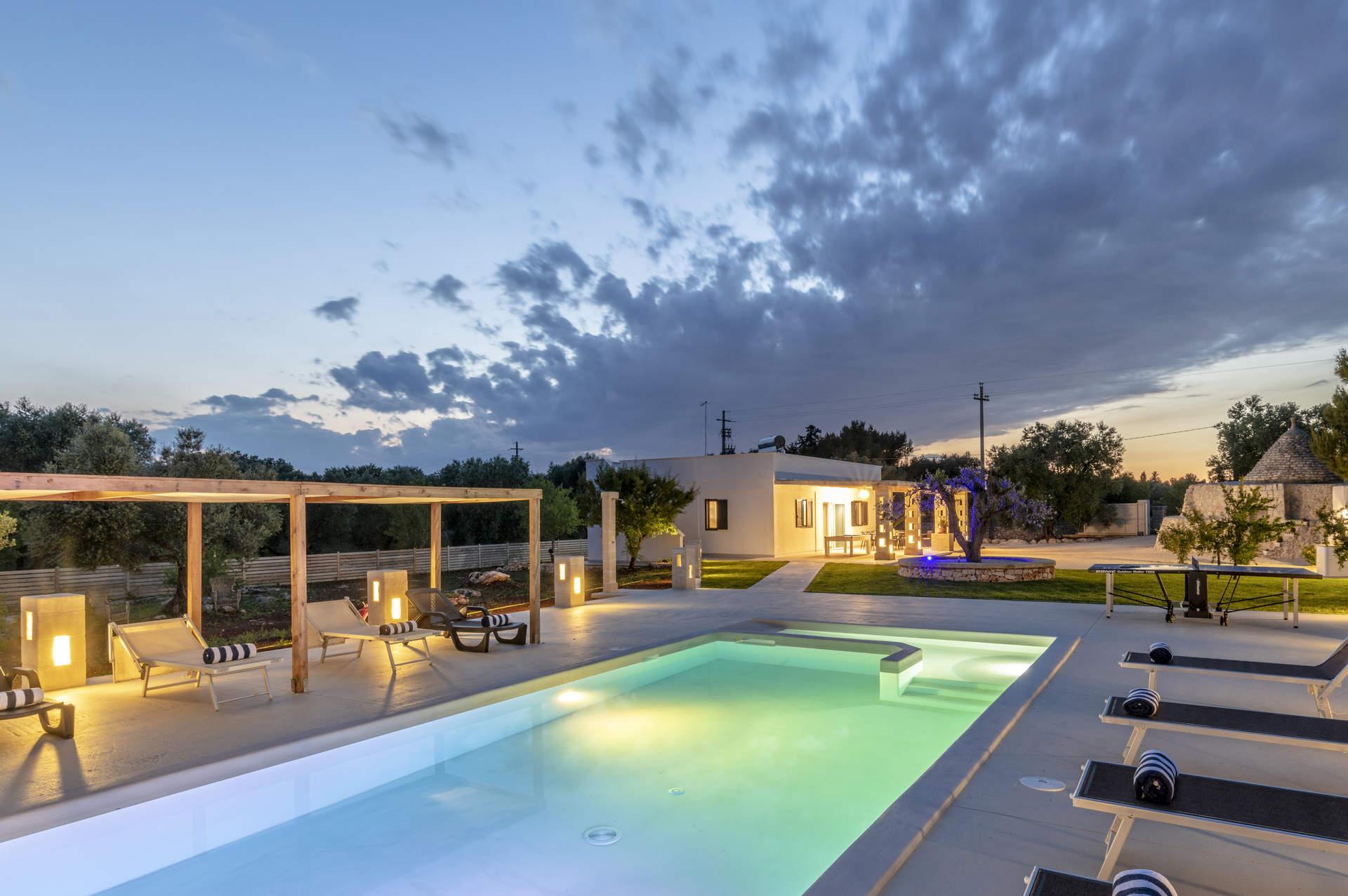 Villa Trullo Lofino, San Vito dei Normanni, Puglia, Italy