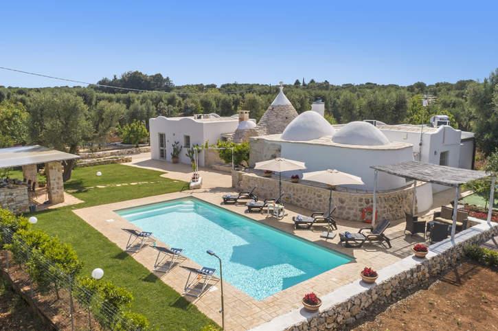 Villa Trullo Rondini, San Michele Salentino, Puglia, Italy