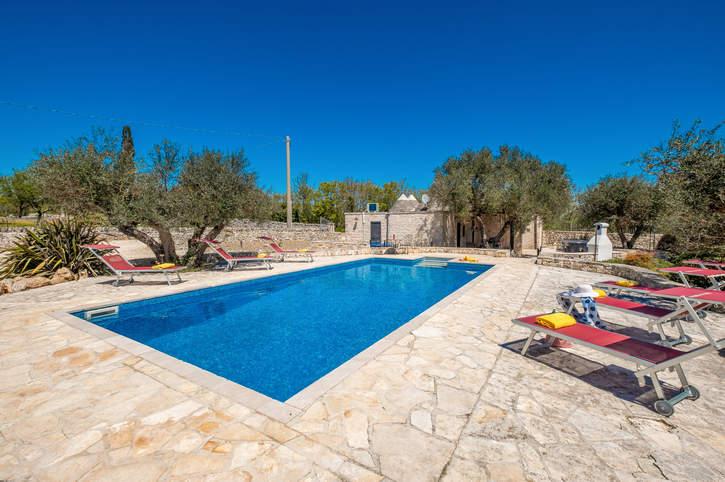 Villa Trulli Serena, Alberobello, Puglia, Italy