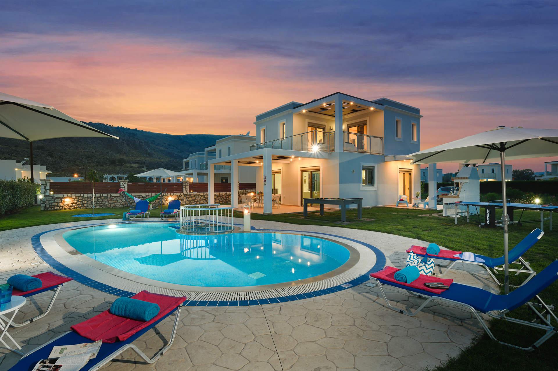 Villa Rodos Apollo, Lardos, Rhodes, Greece