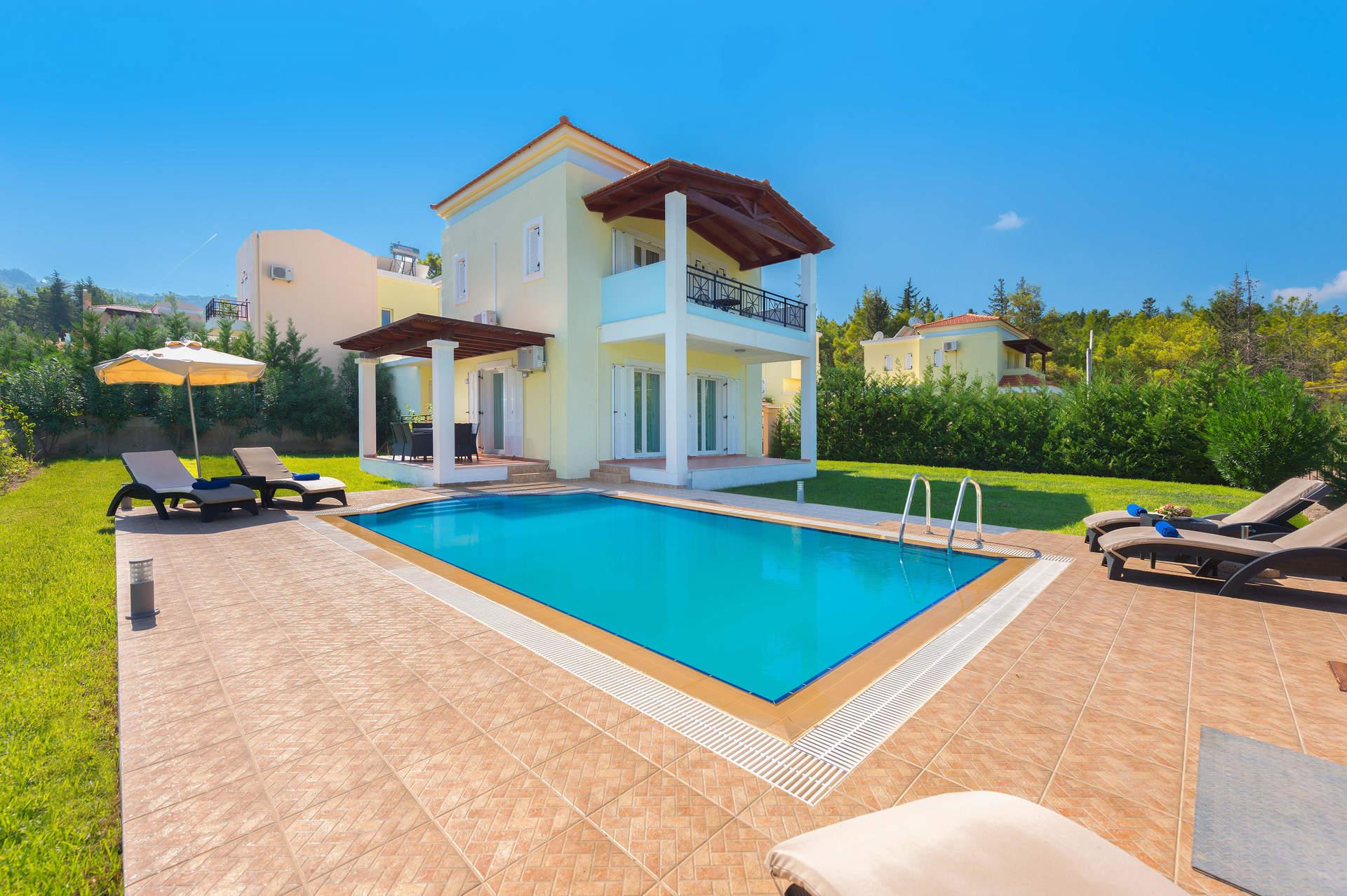 Villa Apollo Springs, Kolymbia, Rhodes, Greece