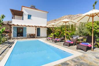 Villa Aqua Maris, Lindos, Rhodes, Greece