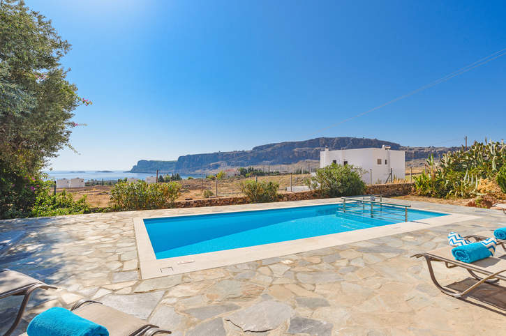 Villa Aqua Oceanis, Lindos, Rhodes, Greece
