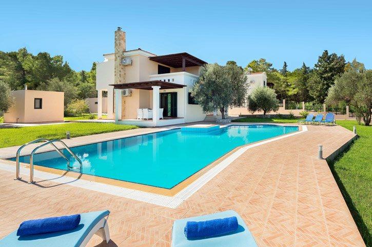 Villa Artemis Springs, Kolymbia, Rhodes, Greece