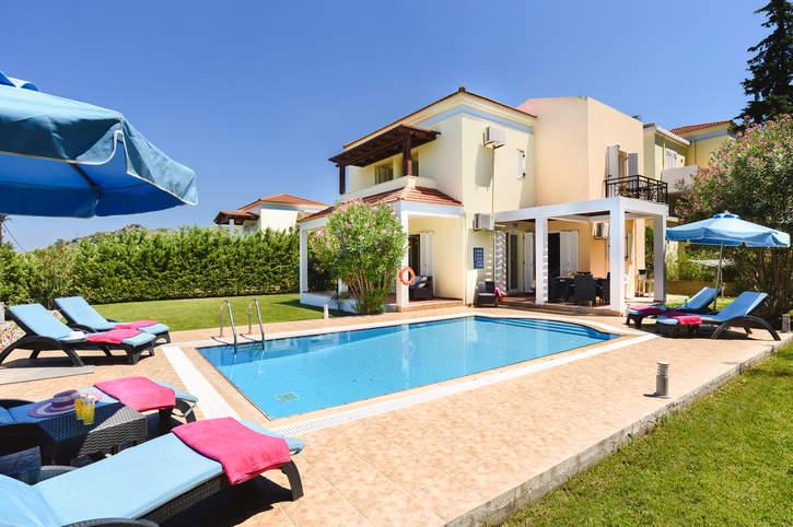 Villa Athena Springs, Kolymbia, Rhodes, Greece