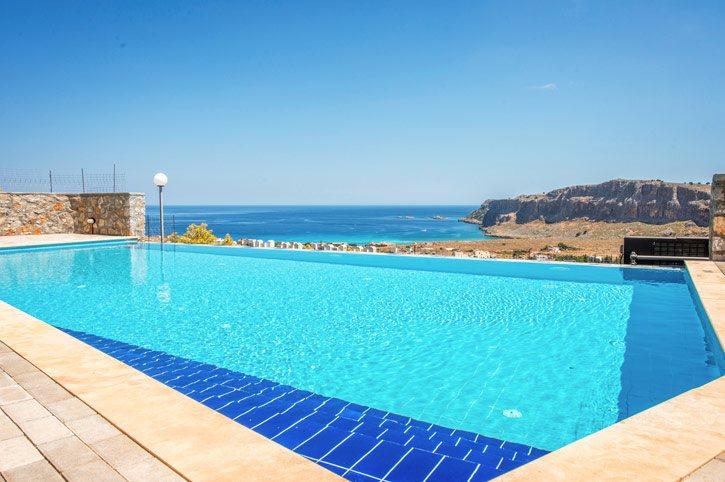 Villa Castello, Lindos, Rhodes, Greece