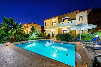 Villa Christina Rhodes, Lindos, Rhodes, Greece