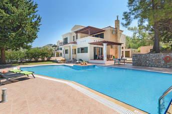 Villa Dimitra Springs, Kolymbia, Rhodes, Greece