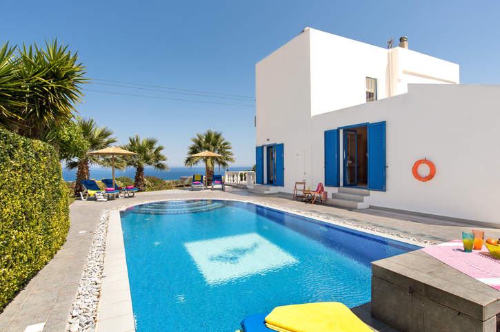 Villa Elysium, Kalathos, Rhodes, Greece