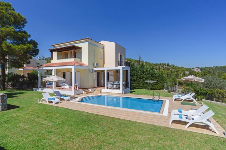 Villa Ermis Springs, Kolymbia, Rhodes, Greece