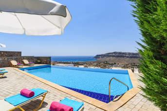 Villa Kallisti, Lindos, Rhodes, Greece