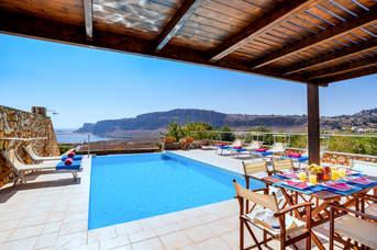 Villa Lindos Diamond, Lindos, Rhodes, Greece