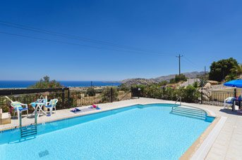 Villa Little Blue, Kalathos, Rhodes, Greece