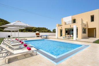 Villa Paleos Hillside, Ialyssos, Rhodes, Greece
