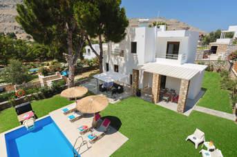 Villa Persis, Pefkos, Rhodes, Greece