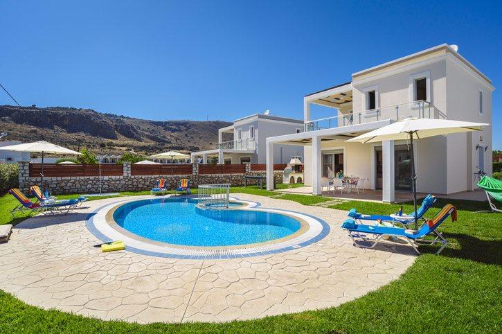 Villa Rodos Poseidon, Lardos, Rhodes, Greece