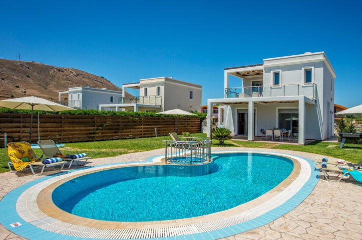 Villa Rodos Athena, Lardos, Rhodes, Greece