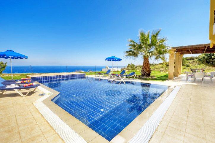 Villa Irene, Kalathos, Rhodes, Greece