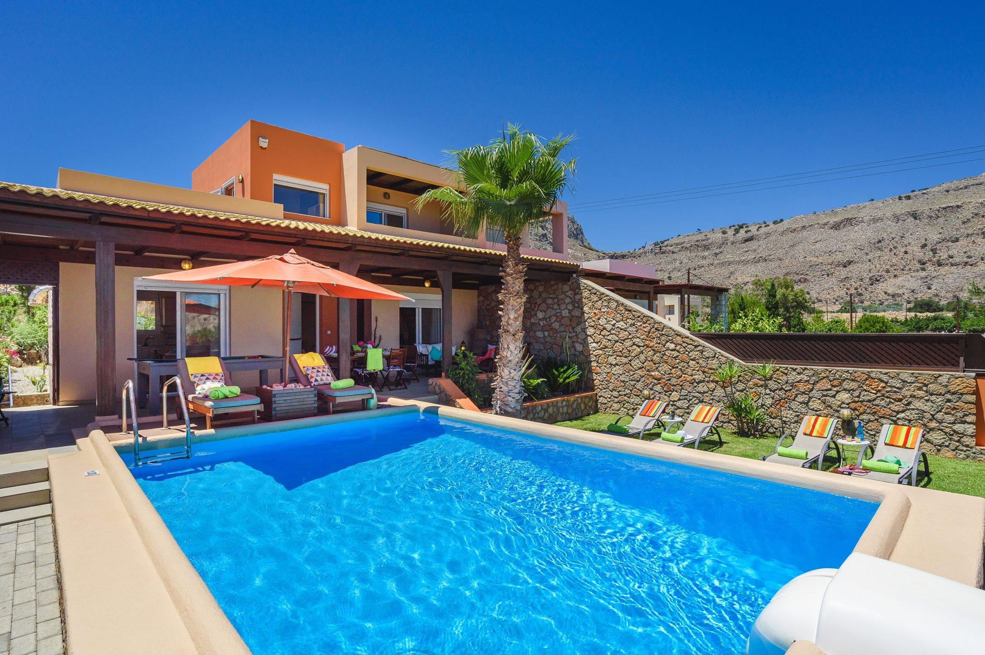 Villa Selini, Lindos, Rhodes, Greece