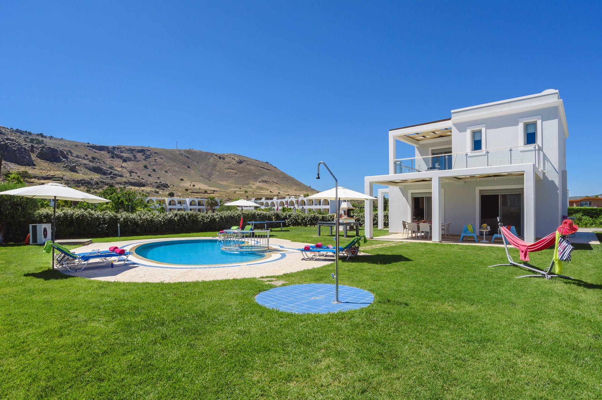 Villa Rodos Zeus, Lardos, Rhodes, Greece