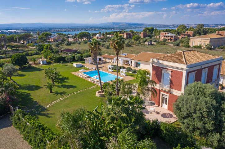 Villa Isola, Siracusa, Sicily, Italy