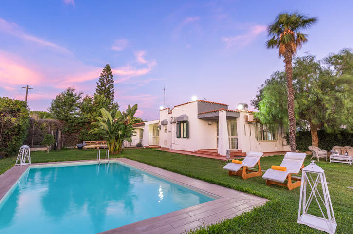 Villa Rebecca, Fontane Bianche, Sicily, Italy