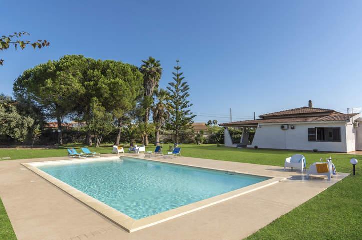 Villa Rosanna, Fontane Bianche, Sicily, Italy