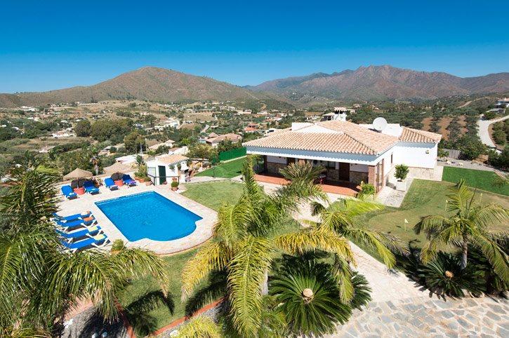 Villa Algazara, Campo Mijas, Costa del Sol, Spain
