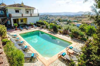 Villa Alqueria, Mijas, Costa del Sol, Spain