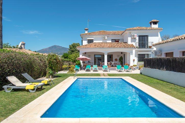 Villa Altavista Sol, San Pedro De Alcantara, Costa del Sol, Spain