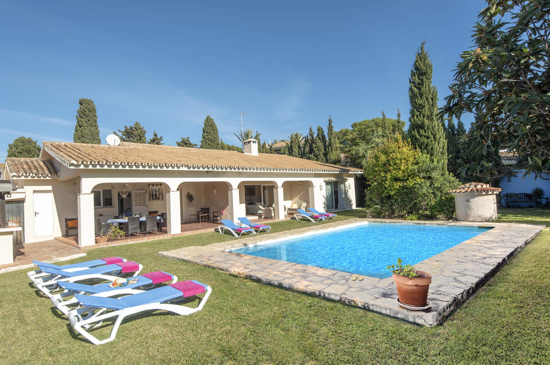 Villa Atalaya, Estepona, Costa del Sol, Spain