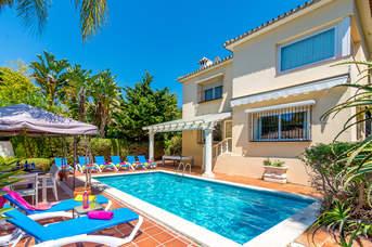 Villa Bolifushi Beach, Marbesa, Costa del Sol, Spain