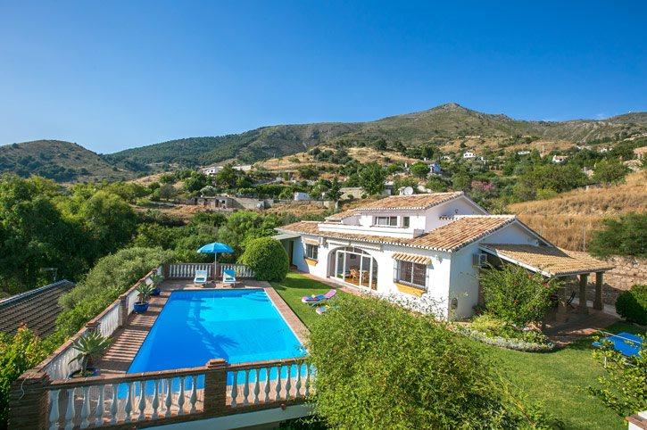 Villa Buhardilla, Mijas, Costa del Sol, Spain