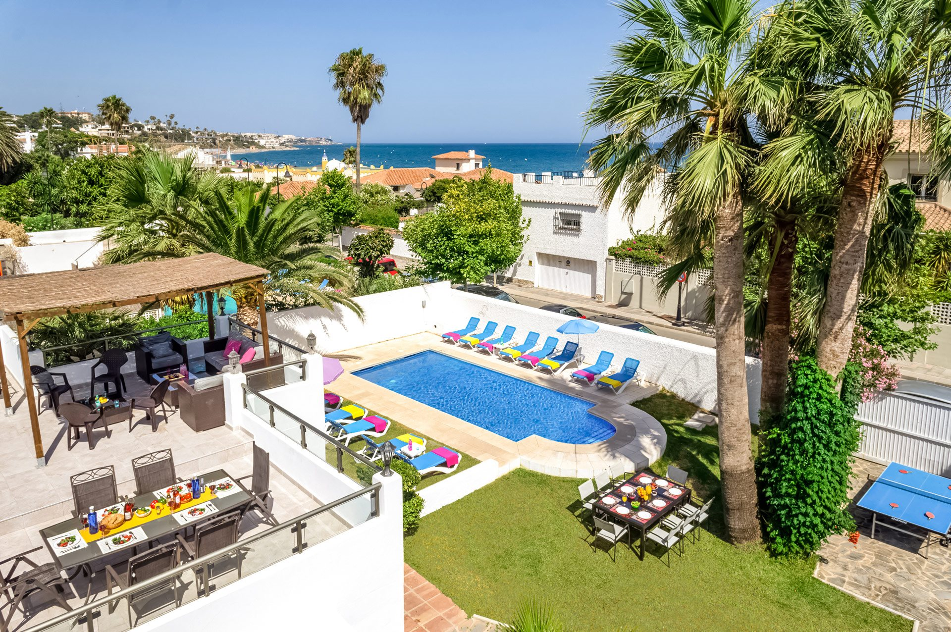 Villa Cala Beach, Mijas Costa, Costa del Sol, Spain