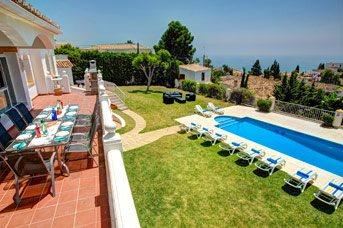 Villa Capelania, Benalmadena, Costa del Sol, Spain