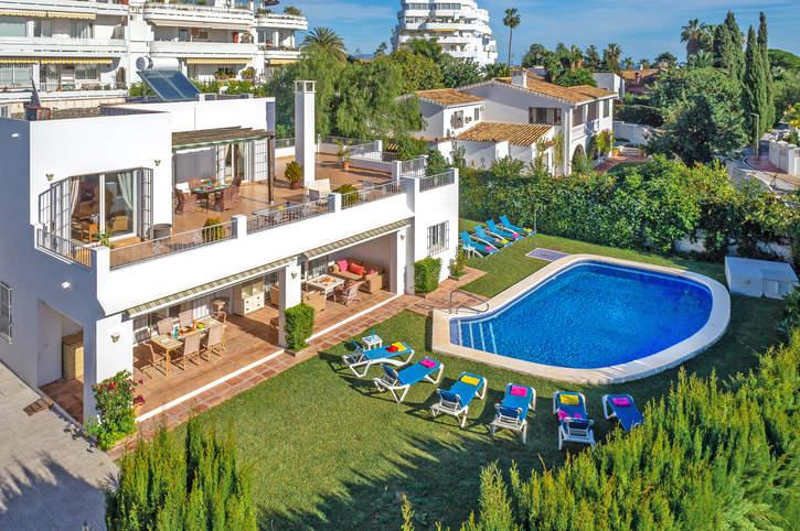 Villa Casaron, Guadalmina, Costa del Sol, Spain