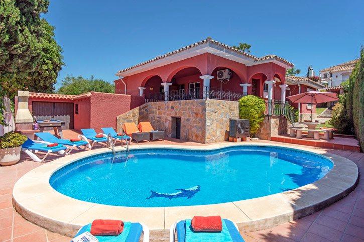 Villa Cecilia, Guadalmina, Costa del Sol, Spain