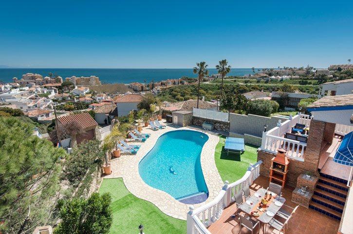 Villa Colina Sol, Fuengirola, Costa del Sol, Spain