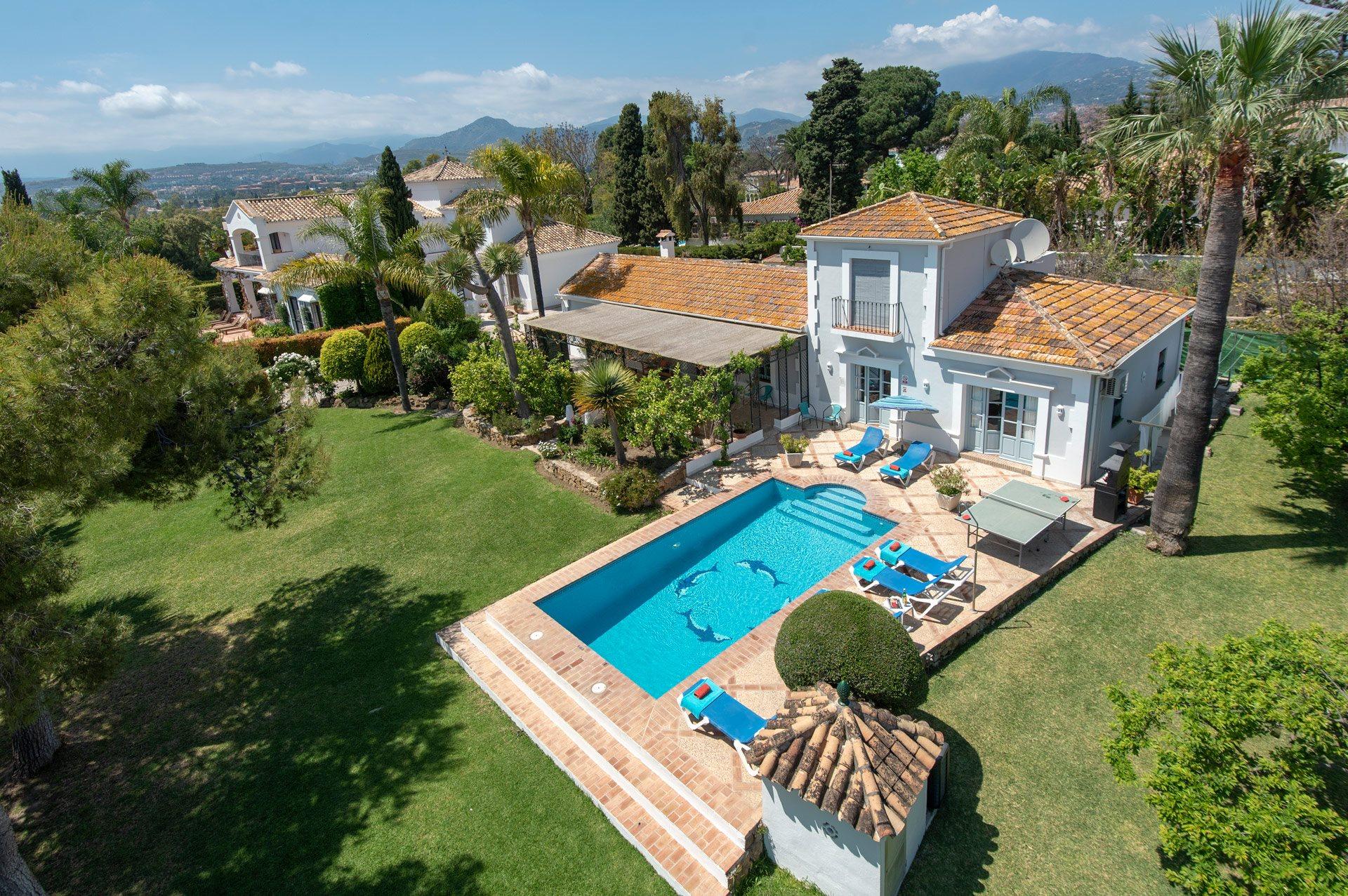 Villa Cortijo Viejo, San Pedro De Alcantara, Costa del Sol, Spain
