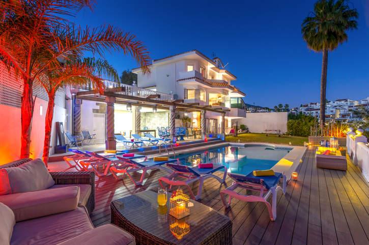 Villa Coto, Fuengirola, Costa del Sol, Spain