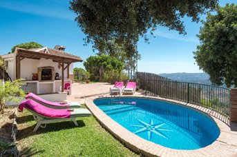 Villa Crisana, Mijas, Costa del Sol, Spain