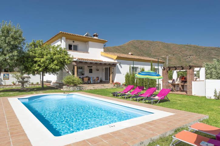 Villa Cuatro Vientos, Campo Mijas, Costa del Sol, Spain